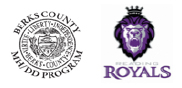Berks County MHDD & Reading Royals Logos
